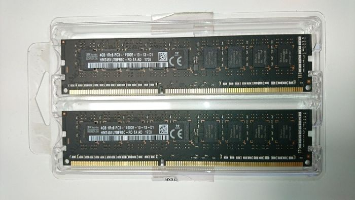 זכרון למק פרו ORIGINAL MEMORY FOR MAC PRO 2013 8GB (2 X 4)