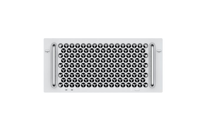 מק פרו Apple Mac Pro Rack Z0YZ-CTO433 3.5GHz 8‑core, 96GB (6x16GB), 4TB SSD, Two Radeon Pro Vega II Duo with 2x32GB - Late 2019 - דור אחרון