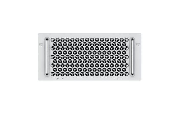 מק פרו Apple Mac Pro Rack Z0YZ-CTO458 3.3GHz 12‑core, 32GB (4x8GB), 4TB SSD, Two Radeon Pro Vega II Duo with 2x32GB - Late 2019 - דור אחרון