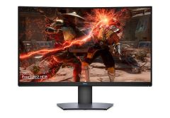 מסך מחשב Dell 32 Curved Gaming Monitor Black 3Y S3220DGF