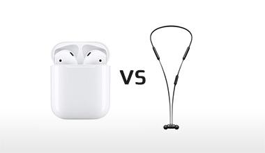 השוואה בין AirPods ל-BeatsX